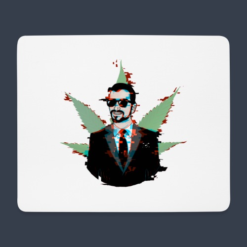 Linaras Hacked Design - Mouse Pad (horizontal)