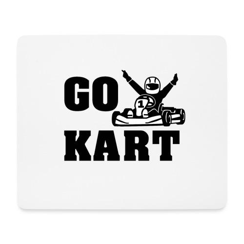 Go kart - Tapis de souris (format paysage)