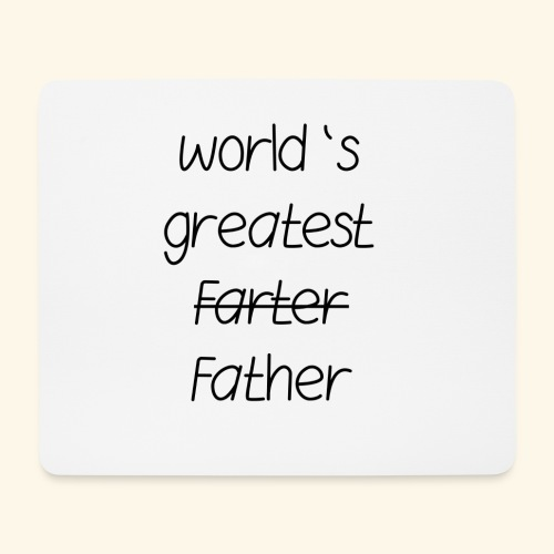 World's greatest Father - Mousepad (Querformat)