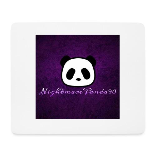 nightmare panda watermark - Mouse Pad (horizontal)
