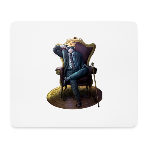 Bitcoin Monkey King - Gamma Edition - Mousepad (Querformat)