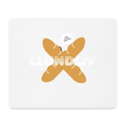 JEG ELSKER BAGUETTE! - Mousepad (bredformat)
