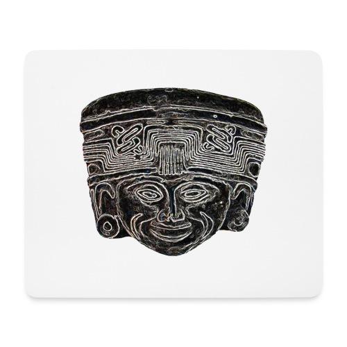 statue maya - Tapis de souris (format paysage)