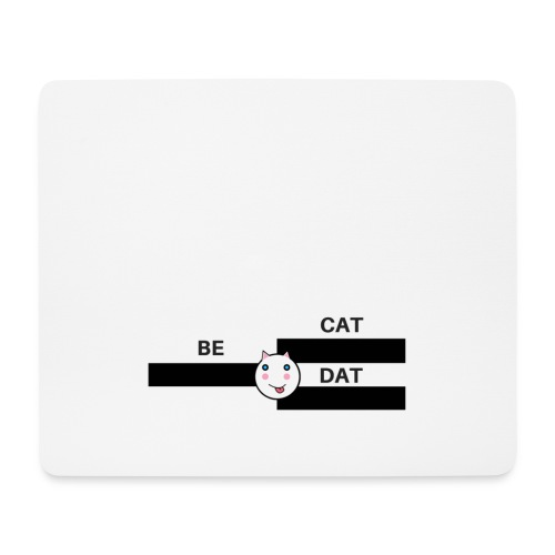 Be Dat Cat | Alf Da Cat - Mouse Pad (horizontal)