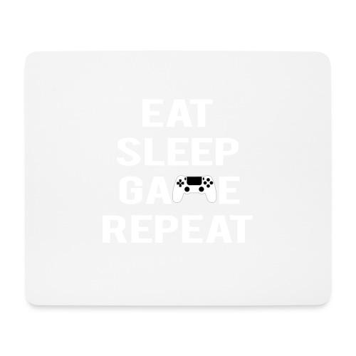 Eat, sleep, game, REPEAT - Mouse Pad (horizontal)