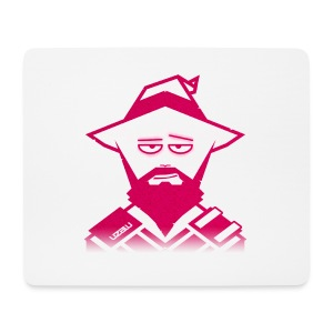 uzalu the Wizard - Mouse Pad (horizontal)
