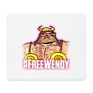 #FreeWendy - Mouse Pad (horizontal)