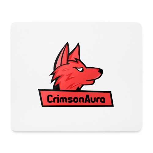 CrimsonAura Logo Merchandise - Mouse Pad (horizontal)