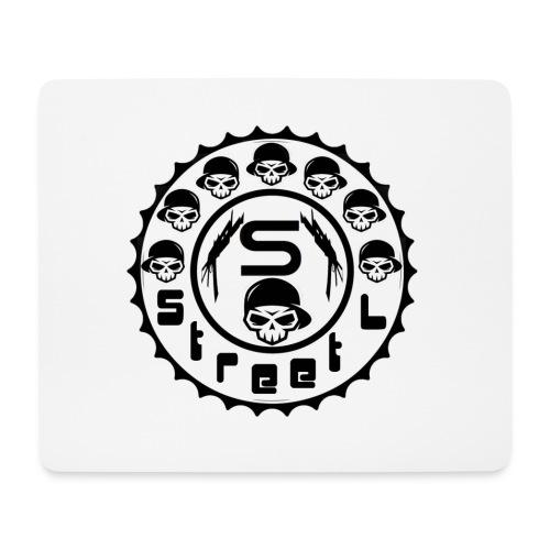rawstyles rap hip hop logo money design by mrv - Podkładka pod myszkę (orientacja pozioma)