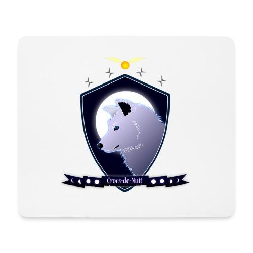 Logo Crocs de Nuit - Tapis de souris (format paysage)