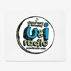 U & I Logo - Mouse Pad (horizontal)
