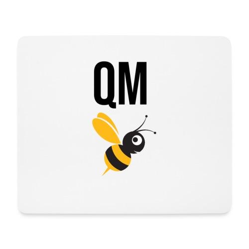 qm biene black - Mousepad (Querformat)