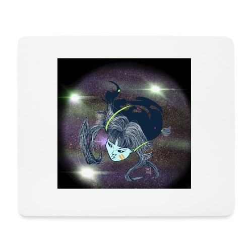 the Star Child - Mouse Pad (horizontal)