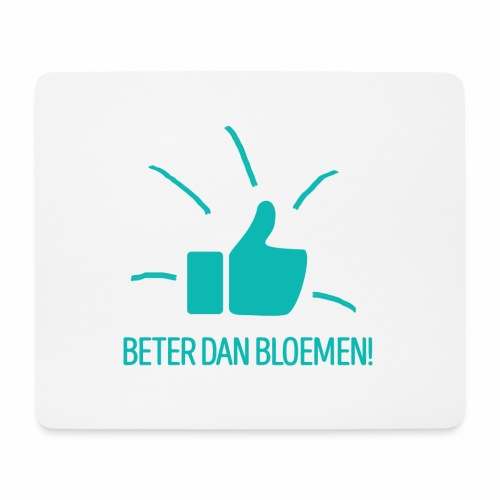 Beter dan bloemen - fun gift - Muismatje (landscape)