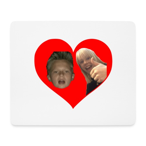 Sebber in love - Mousepad (bredformat)