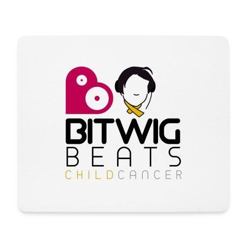 Bitwig Beats Child Cancer - Womens Tee - Mouse Pad (horizontal)
