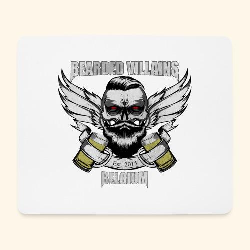 Bearded Villains Belgium - Mouse Pad (horizontal)