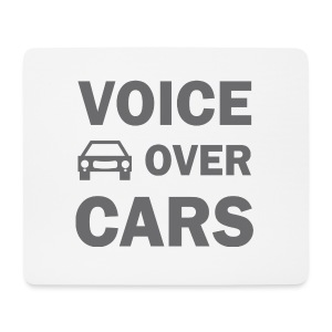 Voice over Cars - Mousepad (Querformat)