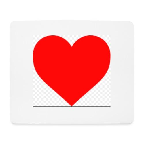 Hjärta - Musmatta (liggande format)
