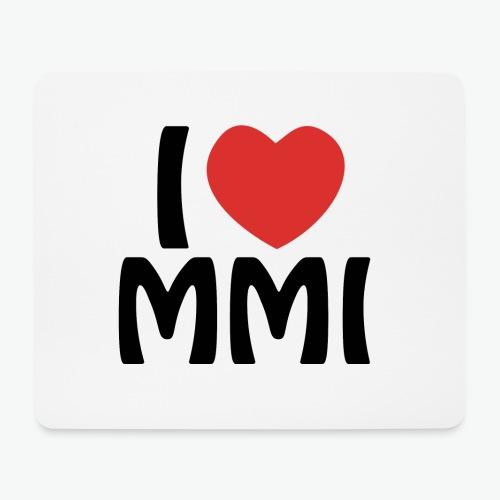 I love MMI - Tapis de souris (format paysage)
