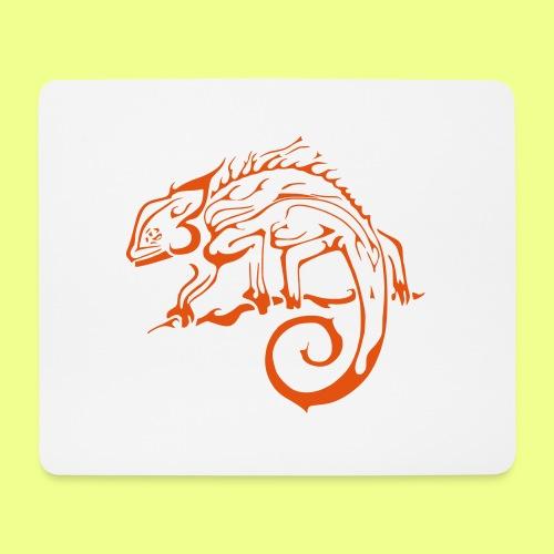 iguana - Alfombrilla de ratón (horizontal)