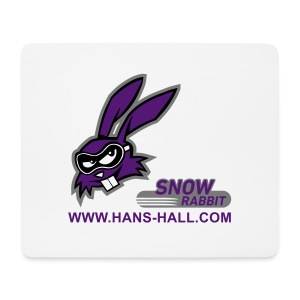 SnowRabbit - Mousepad (Querformat)