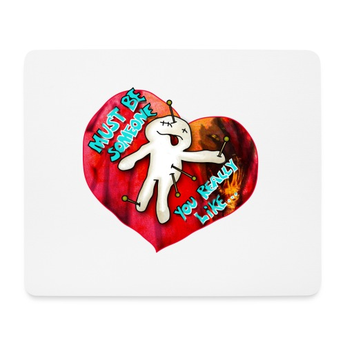 Be my Valentine - Mousepad (Querformat)