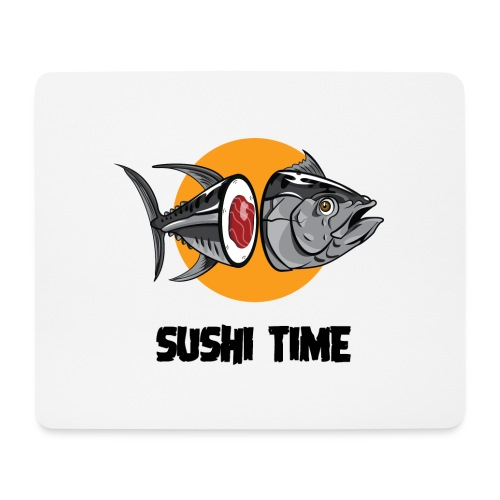 SUSHI TIME-tonno-n - Tappetino per mouse (orizzontale)