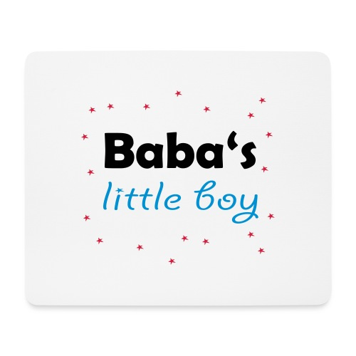 Baba's litte boy Babybody - Mousepad (Querformat)