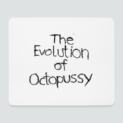 Evoctopussy png - Mousepad (Querformat)