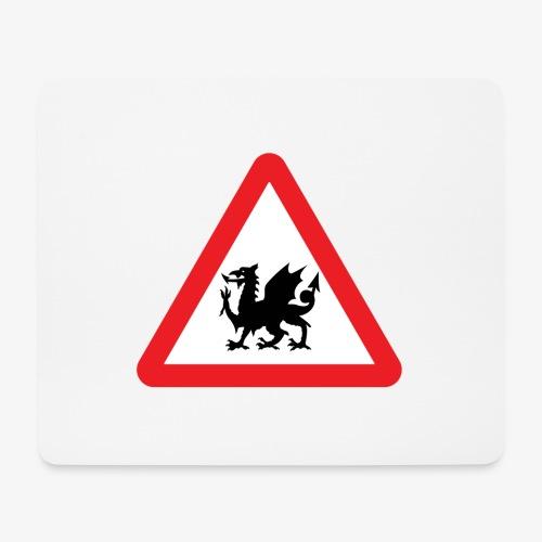 Welsh Dragon - Mouse Pad (horizontal)