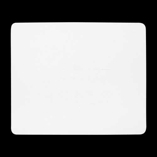 See you at Hotel de Tabaksplant WHITE - Mouse Pad (horizontal)