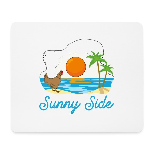Sunny side - Tappetino per mouse (orizzontale)
