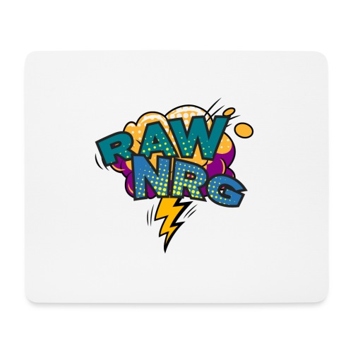 Raw Nrg Comic 1 - Mouse Pad (horizontal)