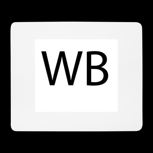 WB Logo - Mousepad (Querformat)