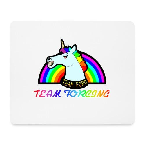 Logo officiel de la team forcing - Tapis de souris (format paysage)