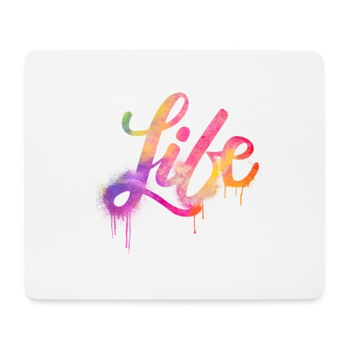 life - Tappetino per mouse (orizzontale)