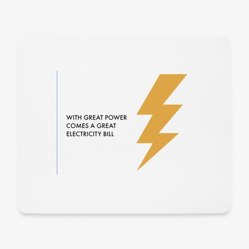 electricity - Mouse Pad (horizontal)