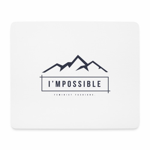 Impossible - Mouse Pad (horizontal)