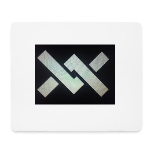 Original Movement Mens black t-shirt - Mouse Pad (horizontal)