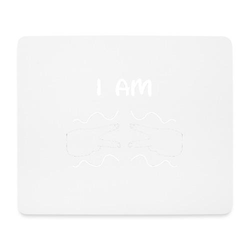 I Am Autism (White) - Mouse Pad (horizontal)