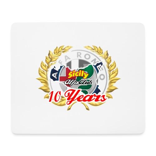 logo10 anni - Tappetino per mouse (orizzontale)