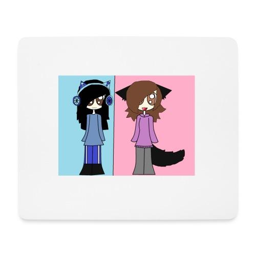 me and ash - Mouse Pad (horizontal)