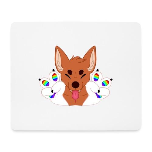 Magic's Gay Peace Fingers - Mouse Pad (horizontal)