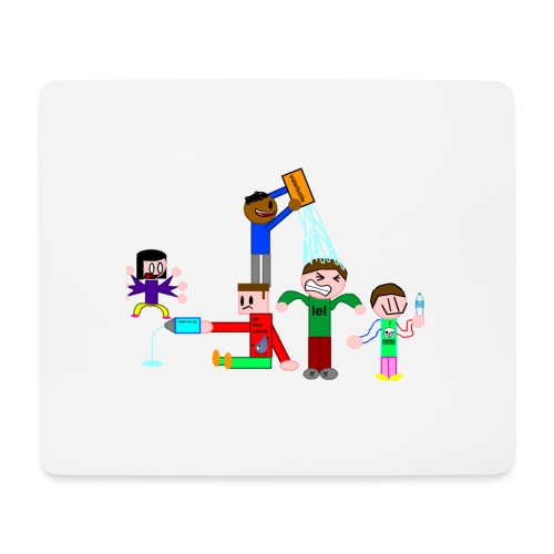 Water Fight - Mouse Pad (horizontal)