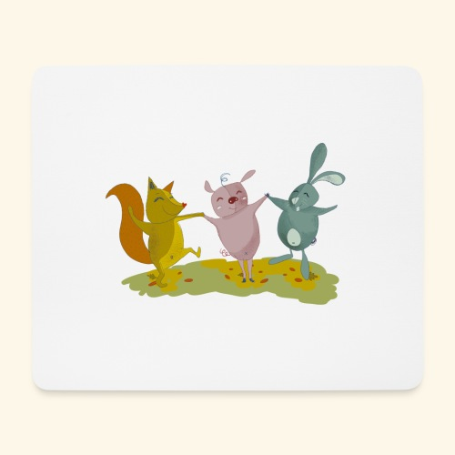 happy friends - Mouse Pad (horizontal)