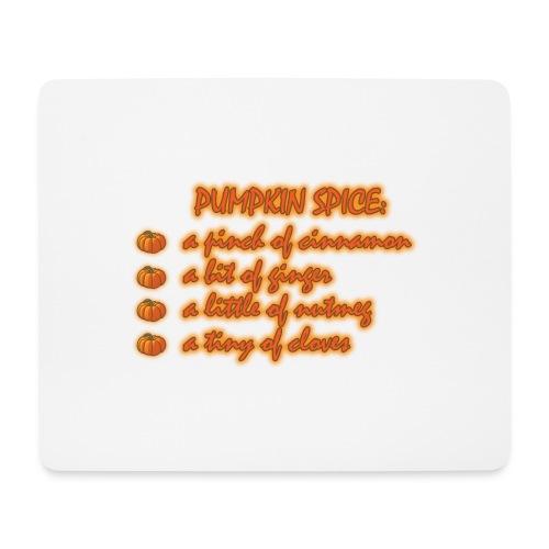 PumpkinSpiceRecipe - Tappetino per mouse (orizzontale)