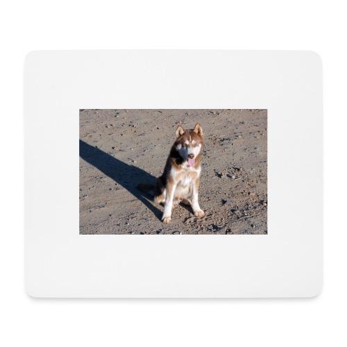 Perro amigable - Alfombrilla de ratón (horizontal)