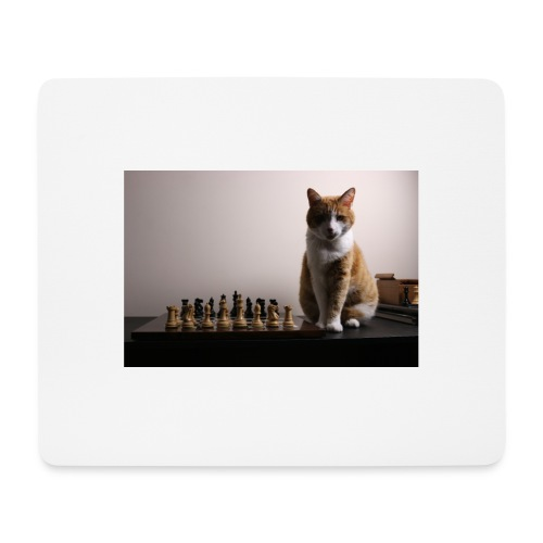 Charlie and his chess board - Mouse Pad (horizontal)