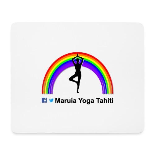 Logo de Maruia Yoga Tahiti - Tapis de souris (format paysage)